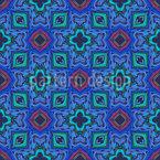 Rainbow Mosaic  Vector Ornament