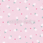 Lovely Valentine Roses Repeat Pattern