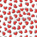 Valentine Hearts Pattern Design