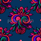 Fantasy-Embroidery Pattern Design