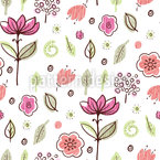 Nice Blossoms Vector Ornament