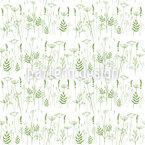 Filigree Spring Seamless Pattern