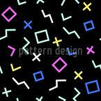 Form In Der Zeit Vektor Muster