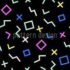 Shape In Time Vector Pattern