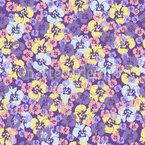 Viola Imprints Repeat Pattern