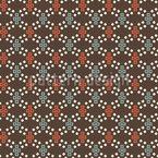 Pixel Gravitation Nahtloses Vektormuster