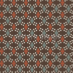 Pixel Gravity Seamless Vector Pattern Design