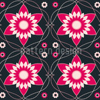 Byzantina Dark Seamless Vector Pattern Design