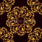 Exquisite Rosetten Nahtloses Vektormuster