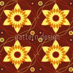 Byzantina Bordeaux Seamless Vector Pattern Design