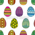 Easter Egg Decorating Pattern Design