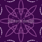 Blossom In Fragments Seamless Pattern