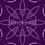 Цветет фрагментами Бесшовный дизайн векторных узоров