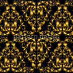 Gold Lace Seamless Vector Pattern Design
