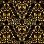 Goldene Spitze Nahtloses Vektormuster