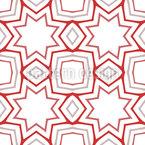 Para Formar Estrelas Design de padrão vetorial sem costura