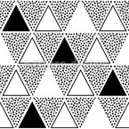 Ich mag Dreiecke Vektor Design