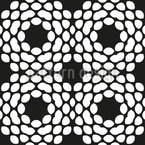 Arranged Round Forms Repeating Pattern