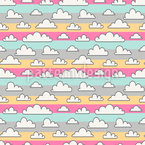 Over the Rainbow Stripes Pattern Design
