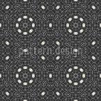 Decoração de Filigrana Design de padrão vetorial sem costura