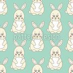 Cute Bunnies Vector Design