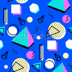 The Original Hipster Seamless Vector Pattern Design