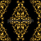 Baroque Damask Seamless Vector Pattern Design