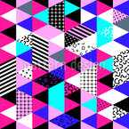 Triangle Patchwork Pattern Design
