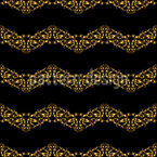Royal Wave Bordures Vector Pattern