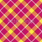 Tartan Weave Seamless Vector Pattern Design