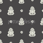 Tiki Seamless Vector Pattern Design