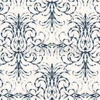 Stylized Baroque Pattern Design