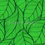 Leaves Dance Seamless Pattern