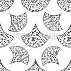 Abstrakte Schuppen Eines Fisches Nahtloses Vektormuster