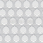 Geometric Mountain Ridge Vector Pattern