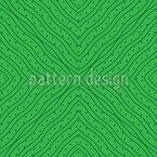 Formas Onduladas Design de padrão vetorial sem costura