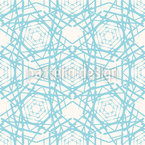 Cold Beauty Seamless Pattern