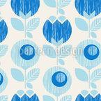 Cute And Retro Seamless Vector Pattern Design