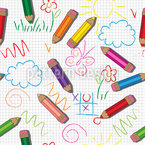 Kreative Kinder Vektor Muster
