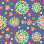 Happy Sprinkles Seamless Vector Pattern Design
