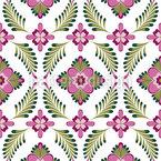 Großmutters Blumenwelt Nahtloses Muster