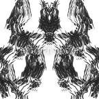 Die Lady Trägt Schwarz Vektor Design