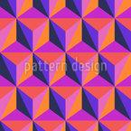 Achtziger Dimensionen Vektor Ornament