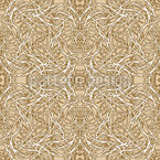 Art Nouveau Muddle Seamless Vector Pattern Design