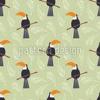 Tukan Ausschau Vektor Design