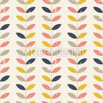 Twig Bordura Seamless Vector Pattern Design