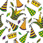 Carnival Seamless Vector Pattern Design