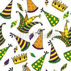 Karneval Muster Design