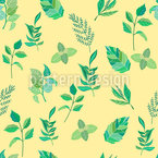 A Lil Bit Spring Seamless Vector Pattern Design