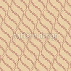 Wavy Dots Beige Vector Pattern